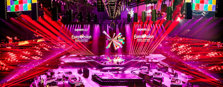 Mais de 480 luzes Claypaky no Eurovision Song Contest 2021