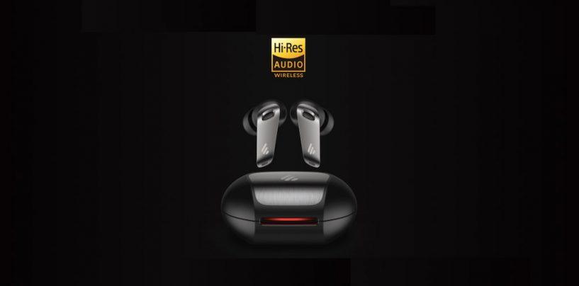 Edifier apresenta fone TWS com certificação Hi-Res Audio