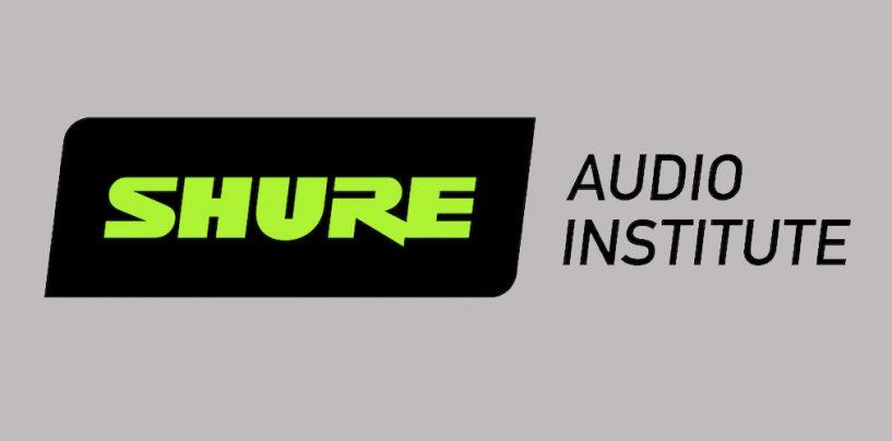 Shure oferece treinamento gratuito para profissionais de áudio