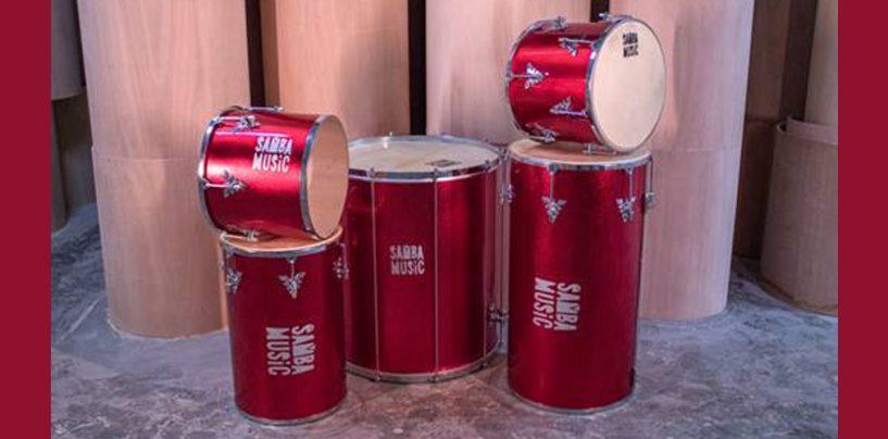 Lançamento na Samba Music, linha de percussão da PHX